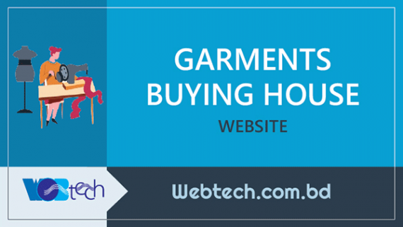 Garments Buying House Website design and development company in Uttara, Dhaka, Bangladesh
