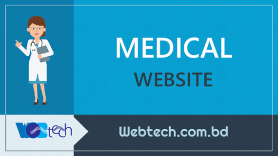 medical website design and development services in Uttara, Dhaka, Bangladesh