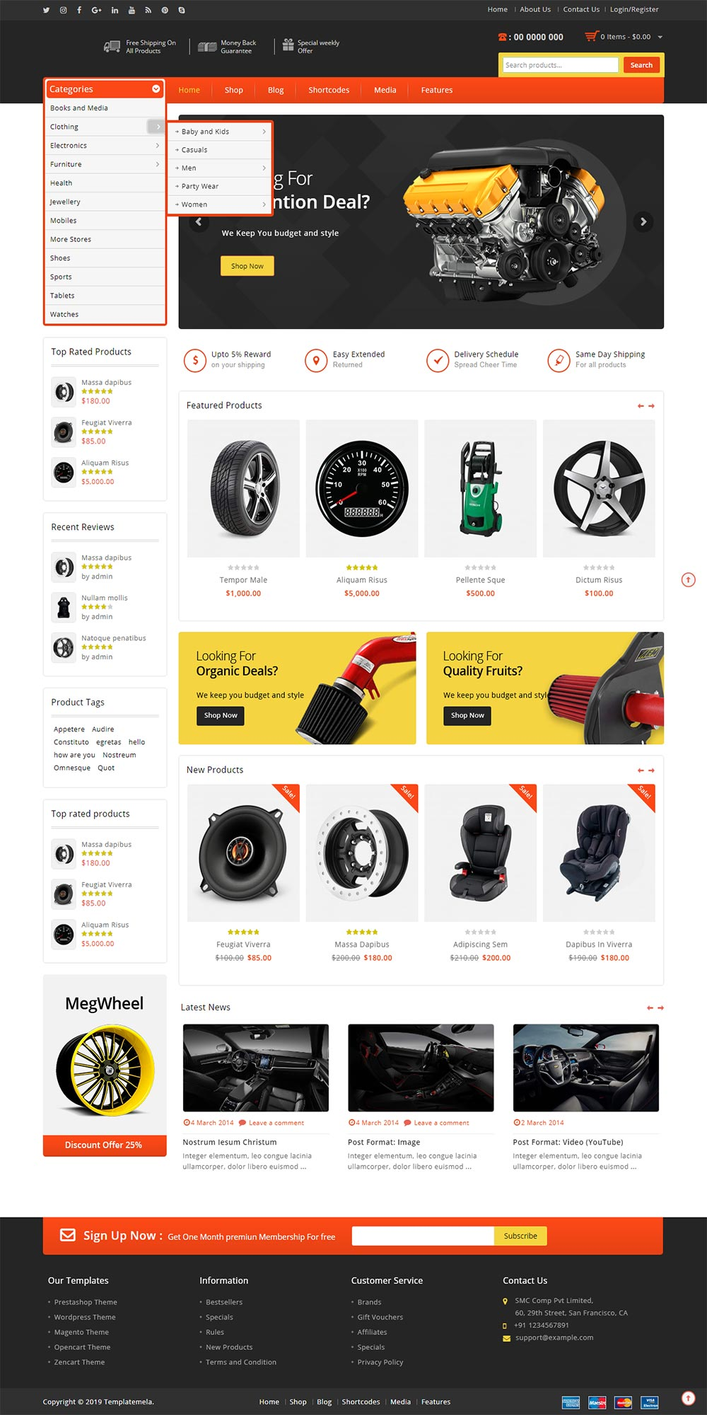 Industrial Website 1